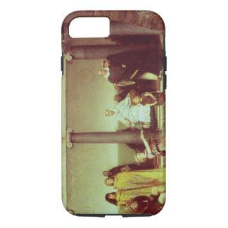 Alma-Tadema | Education of Children of Clothilde iPhone 7 Case