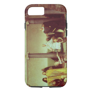 Alma-Tadema | Education of Children of Clothilde iPhone 8/7 Case