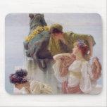 Alma-Tadema el | una esquina de ventajoso, 1895 Alfombrillas De Raton