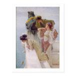 Alma-Tadema el | una esquina de ventajoso, 1895 Tarjetas Postales