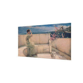 Alma-Tadema | Expectations, 1885 Canvas Print