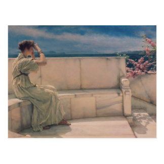 Alma-Tadema | Expectations, 1885 Postcard