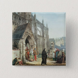 Alma-Tadema | Faust and Marguerite, 1857 Pinback Button