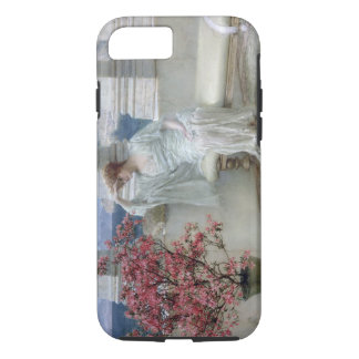 Alma-Tadema | Her eyes are with her thoughts� iPhone 7 Case