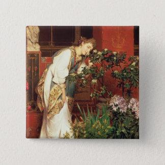 Alma-Tadema | In the Peristylum, 1866 Button