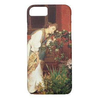 Alma-Tadema | In the Peristylum, 1866 iPhone 8/7 Case
