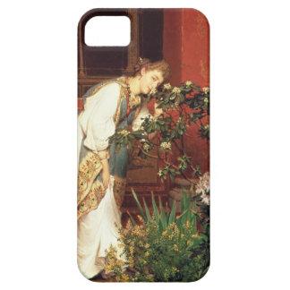 Alma-Tadema | In the Peristylum, 1866 iPhone SE/5/5s Case