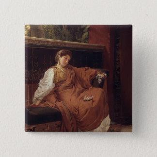 Alma-Tadema | Lesbia Weeping over a Sparrow Button