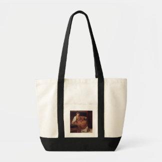Alma-Tadema   Lesbia Weeping over a Sparrow Tote Bag