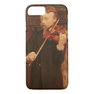Alma-Tadema | Maurice Sons playing the Violin iPhone 7 Case
