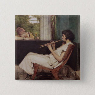 Alma-Tadema | Music Hath Charms Button