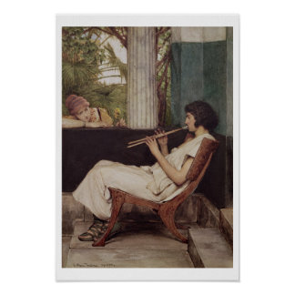 Alma-Tadema | Music Hath Charms Poster