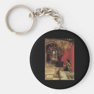 Alma Tadema Oleander Keychain