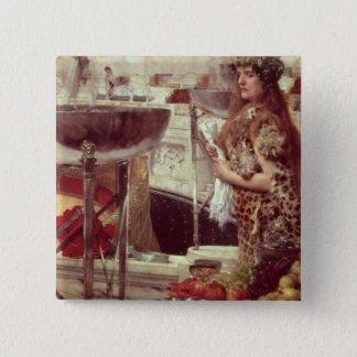 Alma-Tadema | Preparations in the Colosseum, 1912 Pinback Button