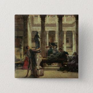 Alma-Tadema | Roman Art Lover, 1870 Button