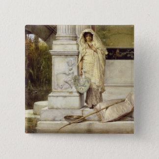 Alma-Tadema | Roman Fisher Girl, 1873 Button