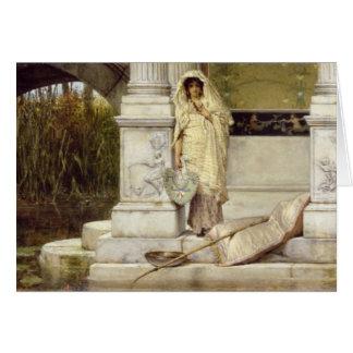 Alma-Tadema | Roman Fisher Girl, 1873 Card
