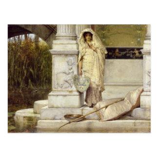 Alma-Tadema | Roman Fisher Girl, 1873 Postcard
