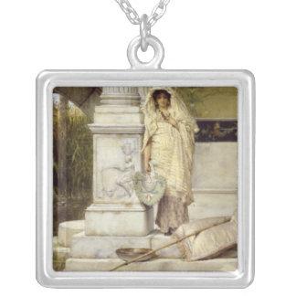 Alma-Tadema | Roman Fisher Girl, 1873 Silver Plated Necklace