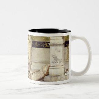 Alma-Tadema   Roman Fisher Girl, 1873 Two-Tone Coffee Mug