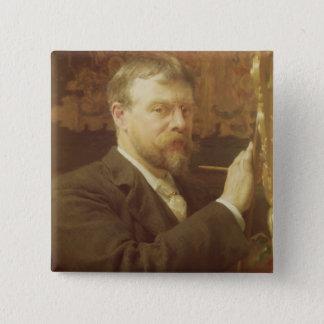 Alma-Tadema | Self Portrait, 1897 Pinback Button