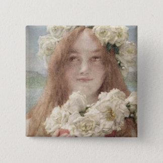Alma-Tadema | Summer Offering, 1894 Pinback Button