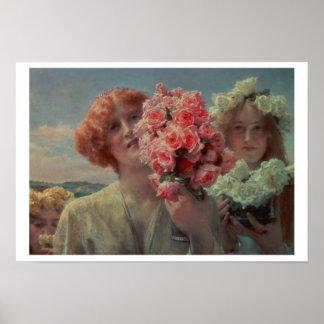 Alma-Tadema | Summer Offering, 1911 Poster