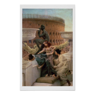 Alma-Tadema | The Coliseum, 1896 Poster