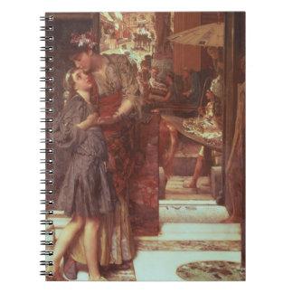 Alma-Tadema | The Departure, 1880 Notebook