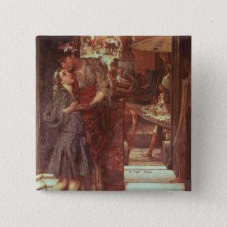 Alma-Tadema | The Departure, 1880 Pinback Button