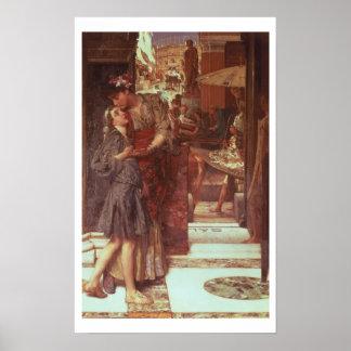 Alma-Tadema | The Departure, 1880 Poster