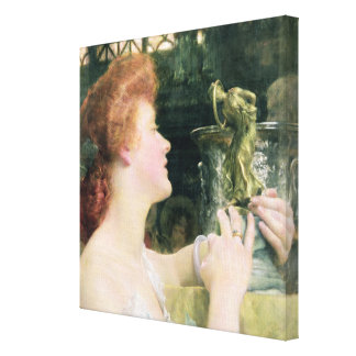 Alma-Tadema | The Golden Hour, 1908 Canvas Print