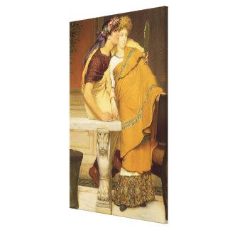 Alma-Tadema | The Mirror, 1868 Canvas Print