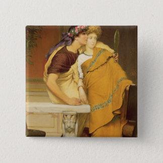 Alma-Tadema | The Mirror, 1868 Pinback Button