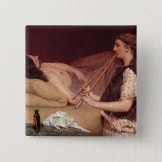 Alma-Tadema | The Siesta, 1868 Pinback Button