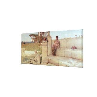 Alma-Tadema | The Voice of Spring, 1908 Canvas Print