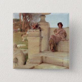 Alma-Tadema | The Voice of Spring, 1908 Pinback Button