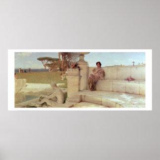 Alma-Tadema | The Voice of Spring, 1908 Poster