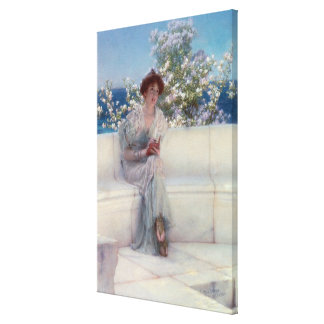 Alma-Tadema | The Year is at the Spring Canvas Print
