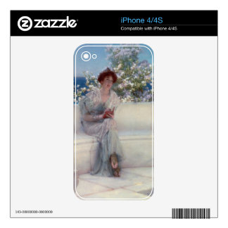 Alma-Tadema   The Year is at the Spring iPhone 4S Decal