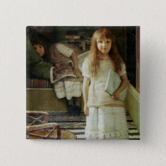 Alma-Tadema | This is our Corner, 1873 Pinback Button