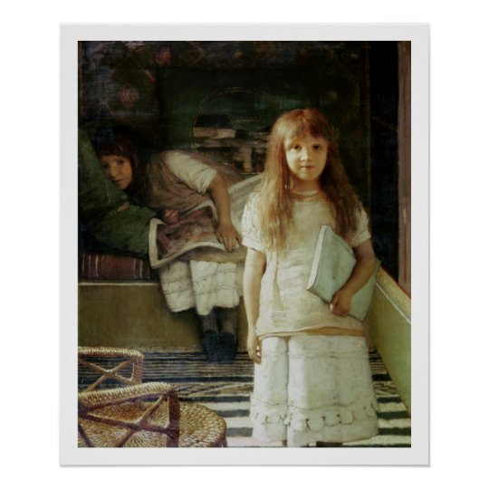 Alma-Tadema | This is our Corner, 1873 Poster