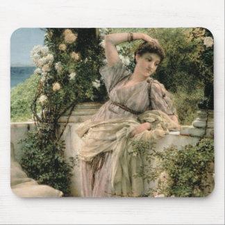 Alma-Tadema | 'Thou Rose of All the Roses', 1885 Mouse Pad