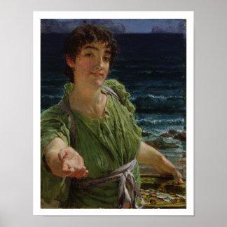 Alma-Tadema | Una Carita, 1883 Poster