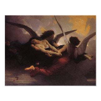 Alma traída al cielo por Bouguereau, arte del Anuncio Personalizado