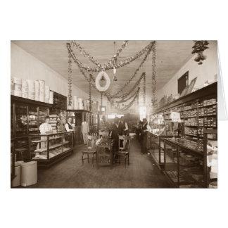 Almacén grande de Elwerts, Sacramento, CA, c.1907 Tarjeta De Felicitación