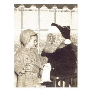 Almacén grande sumario Santa circa 1956. A.Chris Tarjetas Postales