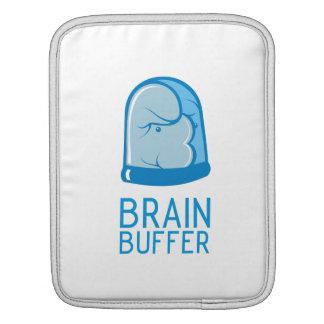 Almacenador intermediario e IPad del cerebro Fundas Para iPads
