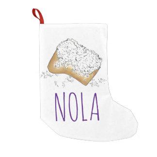 Almacenamiento azucarado del navidad de NOLA New Calcetín De Navidad Pequeño
