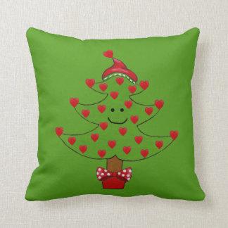 Almacenamiento caprichoso del navidad del árbol cojines